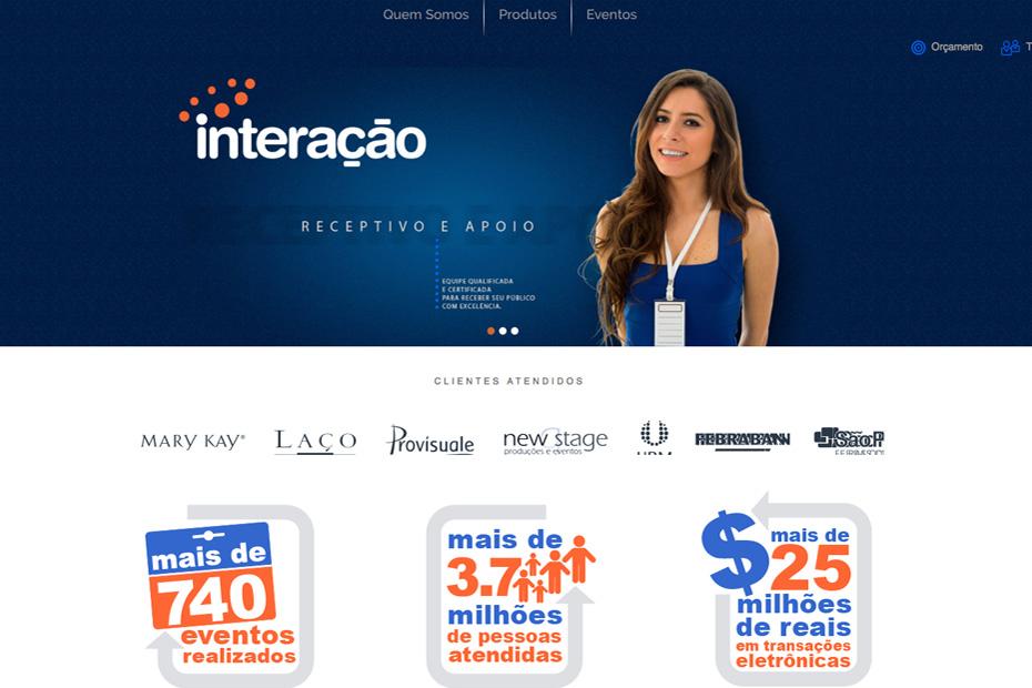 Site Interação
