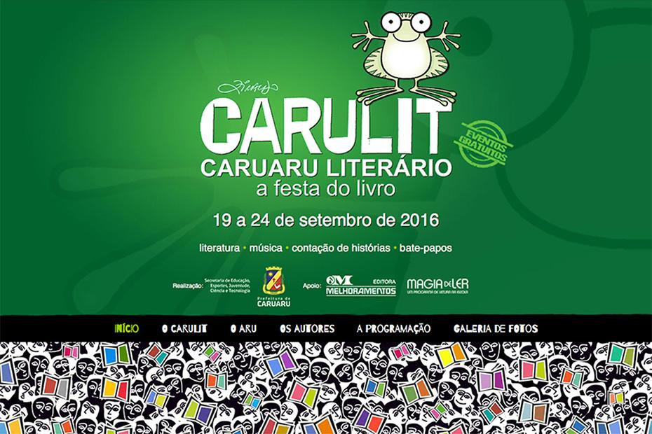 Site Carulit para Editora Melhoramentos